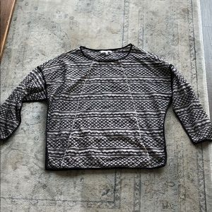 Madewell Long Sleeve Breathable Embroidered Top